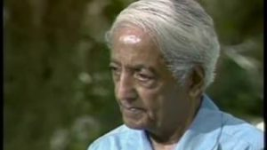 The author Krishnamurti